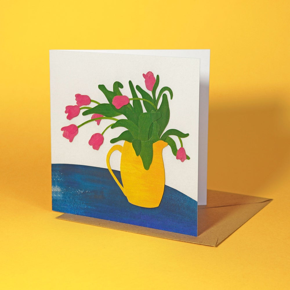 Tulips Greetings Card