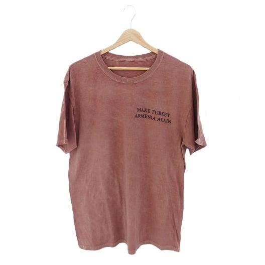 Image of Wilsonian T-shirt - Tuff Red (Stonewashed)