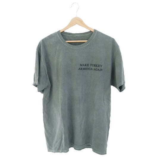 Image of Wilsonian T-shirt - Zeitun Green (Stonewashed)