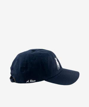 Image of BOYS OF SUMMER_DANCE DAD HAT (A. ROSS) :::NAVY:::
