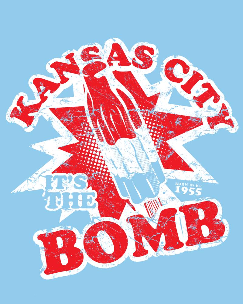 Image of Kansas City, It's the Bomb Shirt