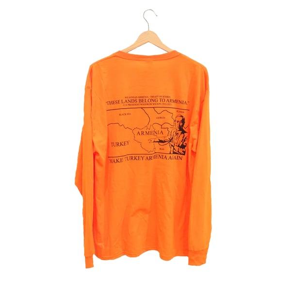 Image of Wilsonian Longsleeve - Uzkoosh Orange
