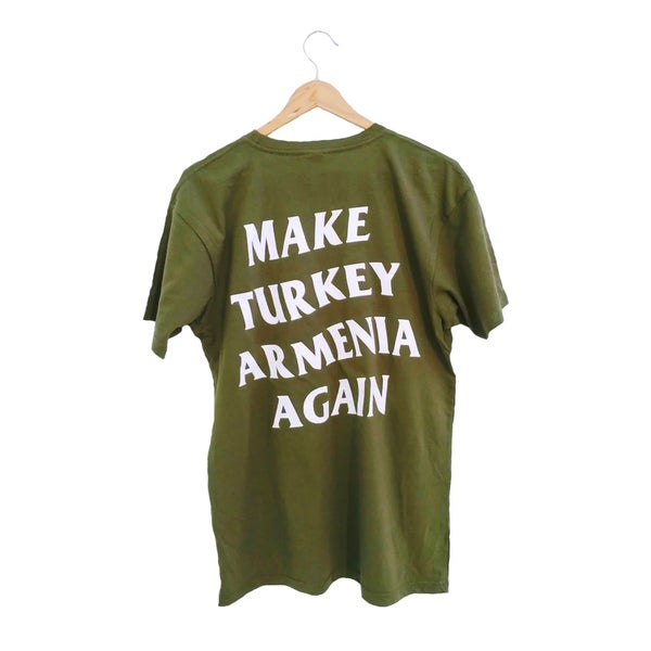 Image of Social T-shirt - Fedayee Green