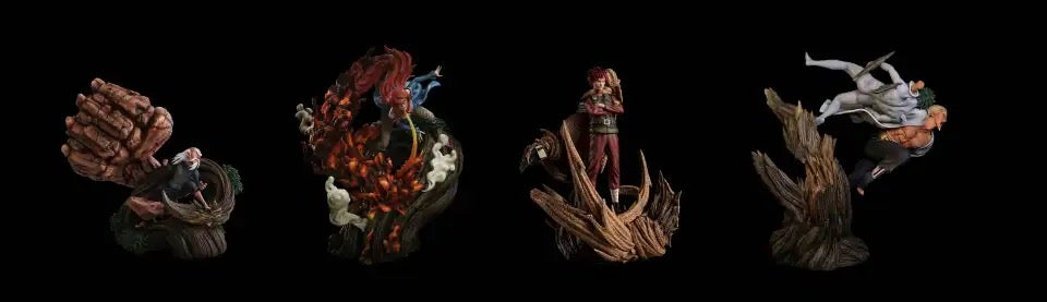 Image of [Last-Stock]Naruto IZ Studio Gokage Set 1:7 Resin Statue