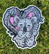 """Koala 4"""" Sticker"""