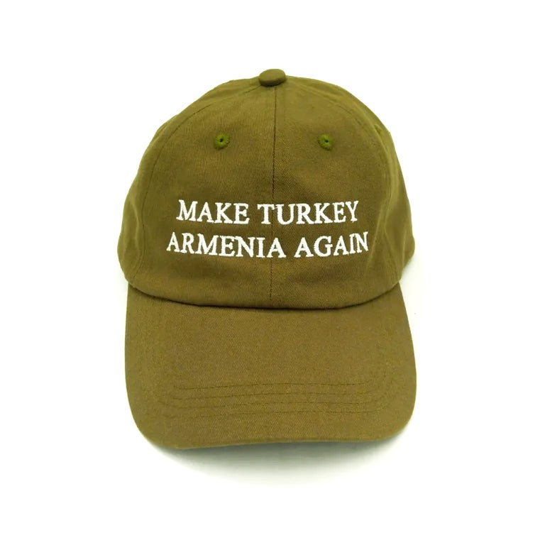 Image of Make Turkey Armenia Again hat - Fedayee Green