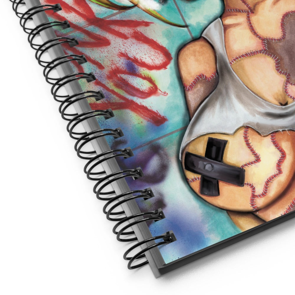 Image of PATCHWORK PUNK NOTEBOOK