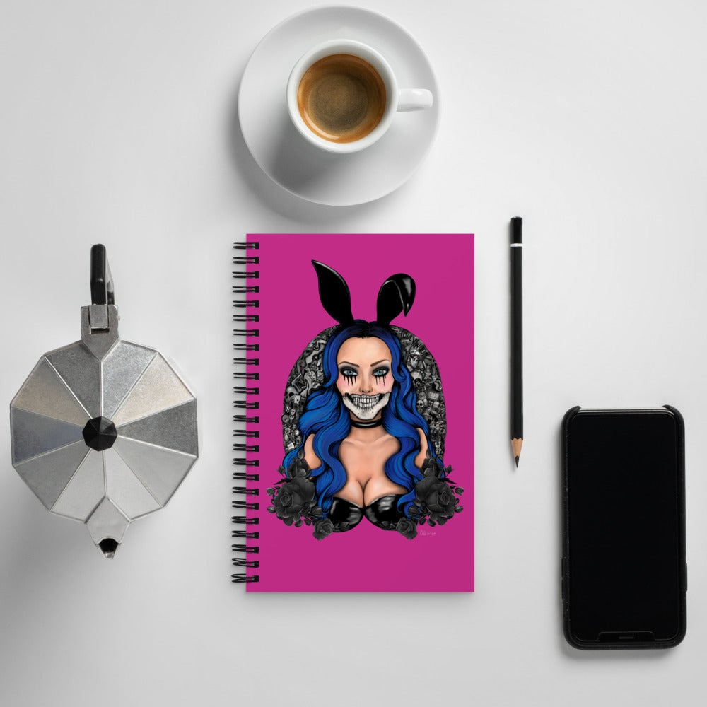 Image of LIVE FAST DIE PRETTY NOTEBOOK