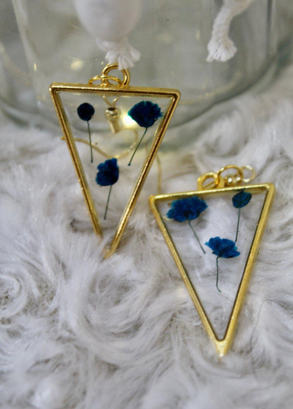 Image of Blue Sharp Triangle