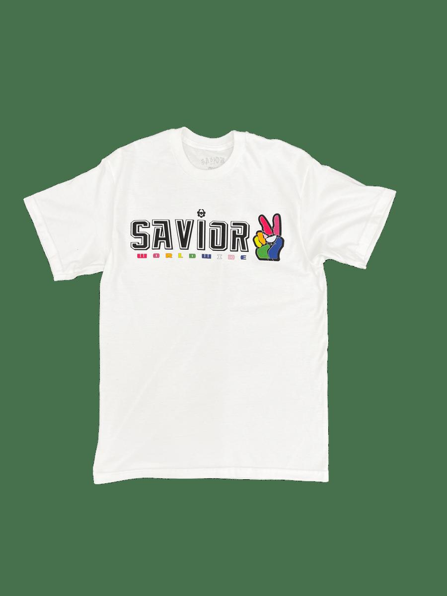Image of Savior Worldwide Peace Union- White