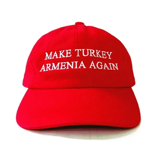Image of Make Turkey Armenia Again hat- Red