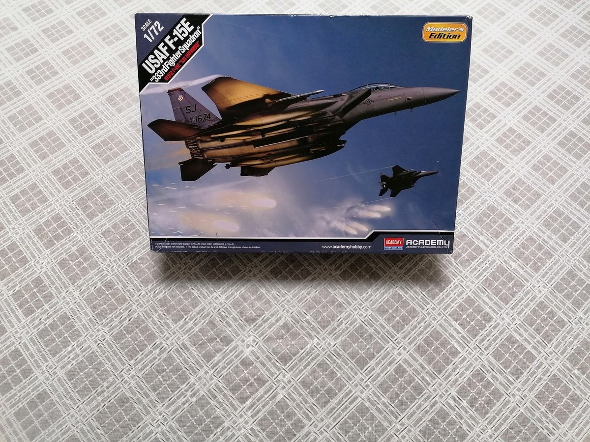 """Image of ACADEMY 1/72 USAF F-15E """"333RD FIGHTER SQUADRON"""" MODELERS EDITION 12550"""