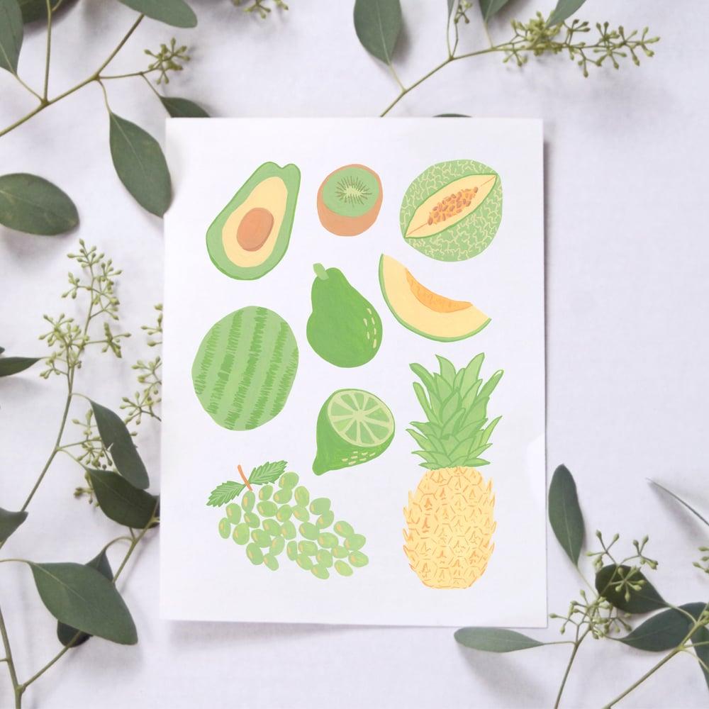Image of Fruits print bundle