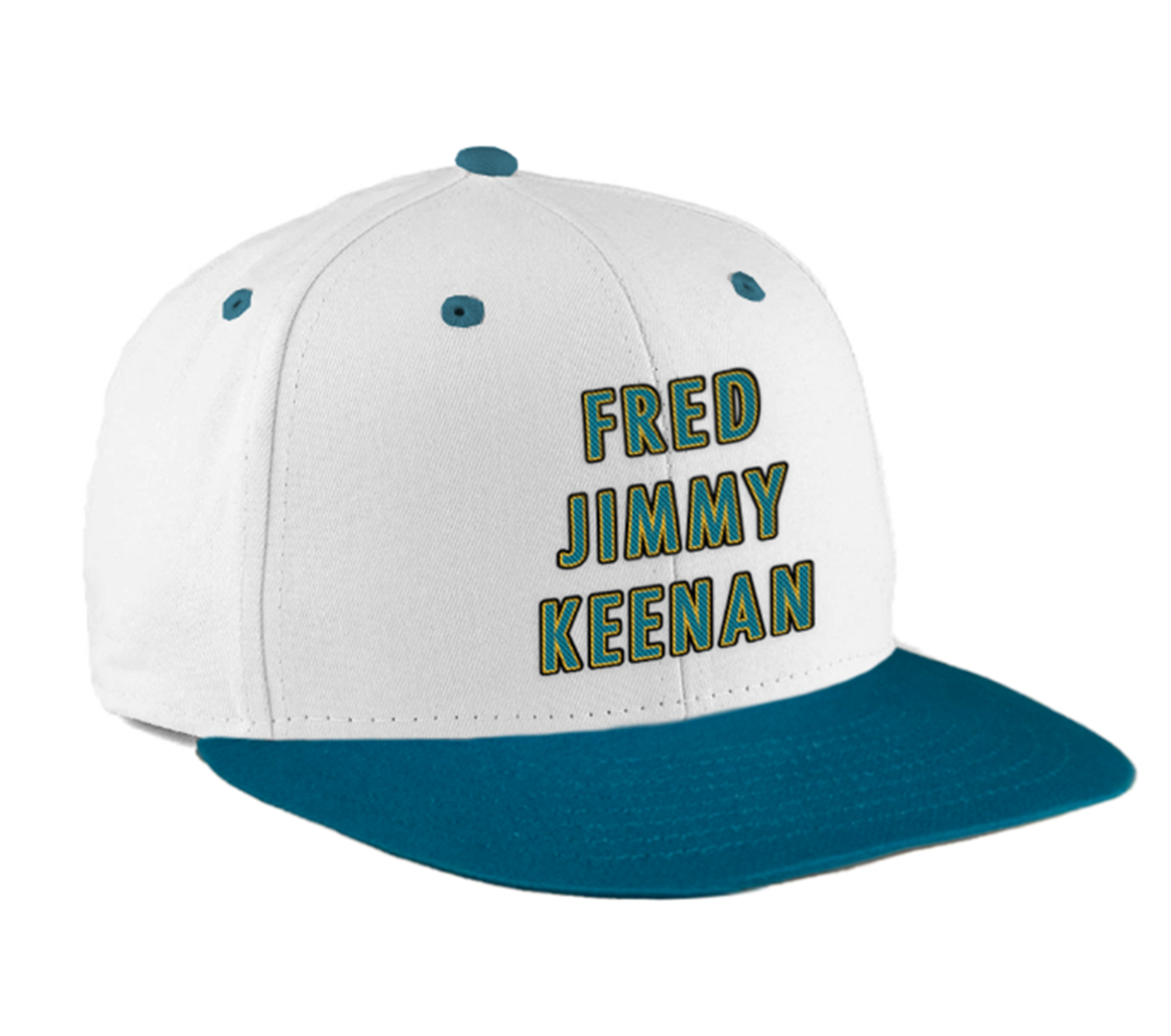 Image of May's Limited Edition Lid- Legends - Teal & White