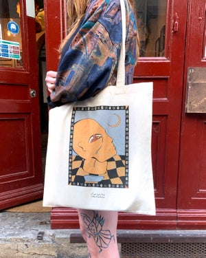 """Tote bag """"Dripping"""""""