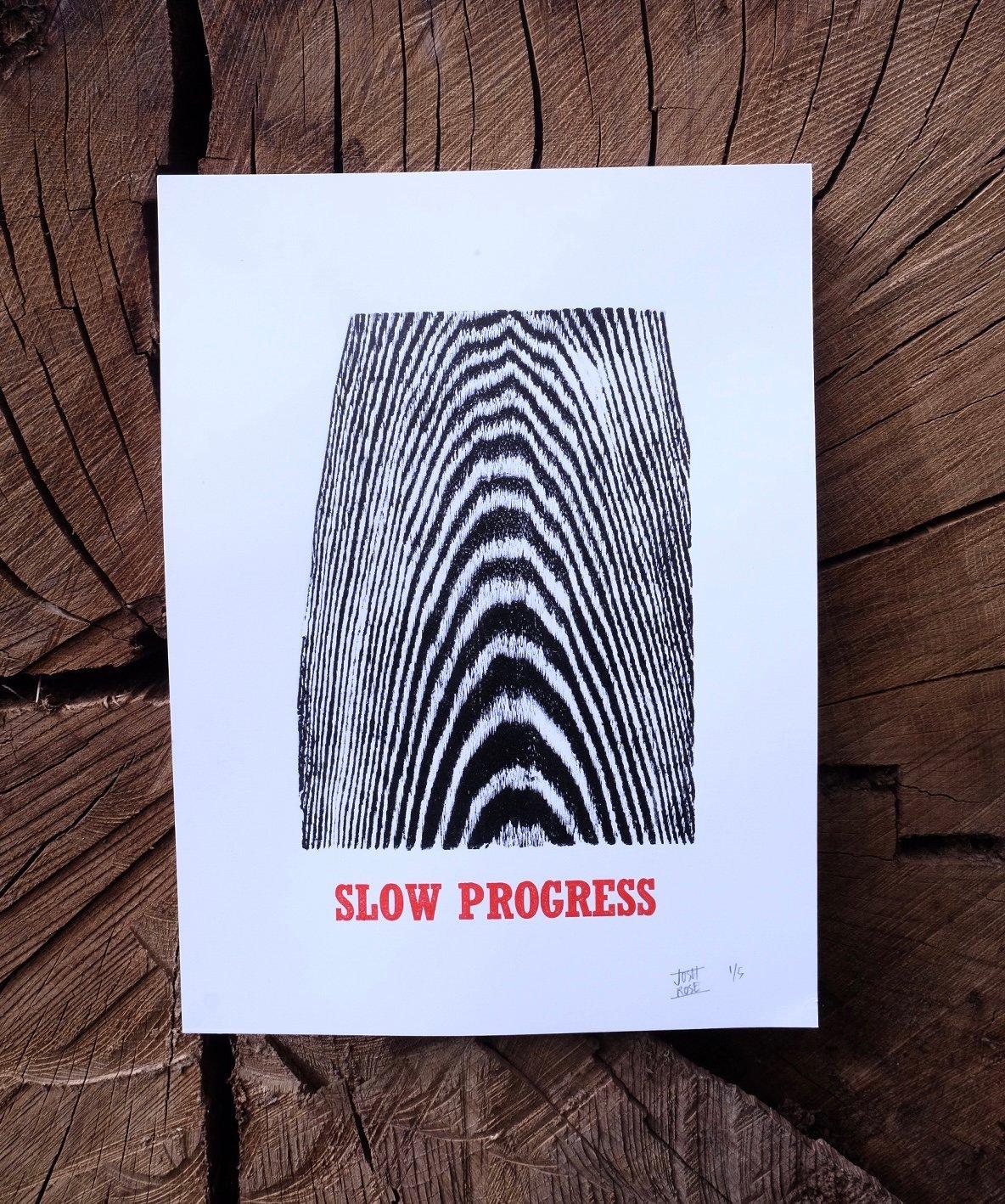 Image of SLOW PROGRESS