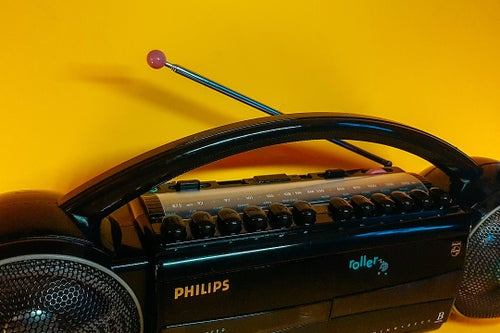 Image of PHILIPS ROLLER D8037 (1988) BLUETOOTH BOOMBOX