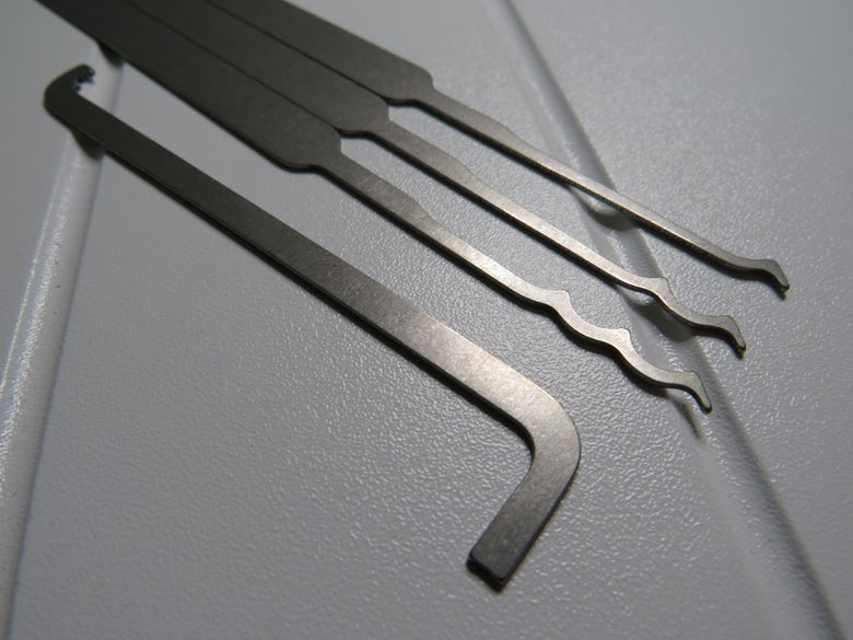 Image of Titanium Full Size Entry Set