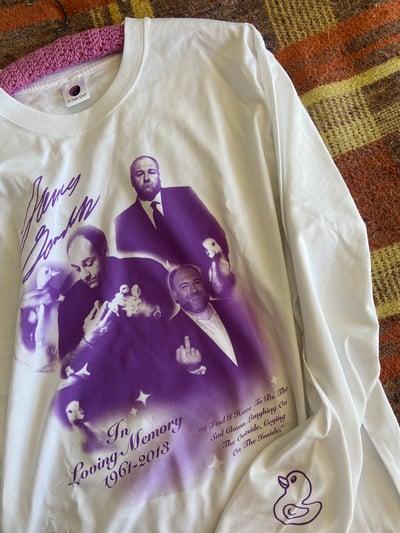 Image of James Gandolfini Memorial Longsleeve T-shirt
