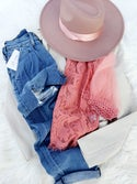 Judith Lace Blouse (pink)