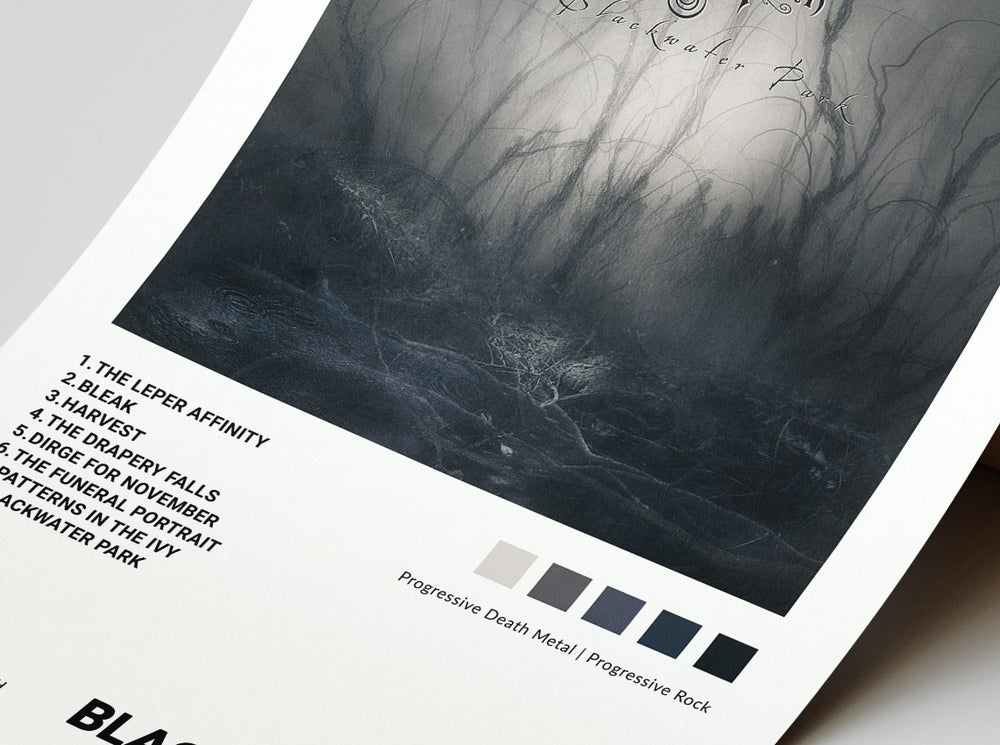Opeth - Blackwater Park Album Cover Poster
