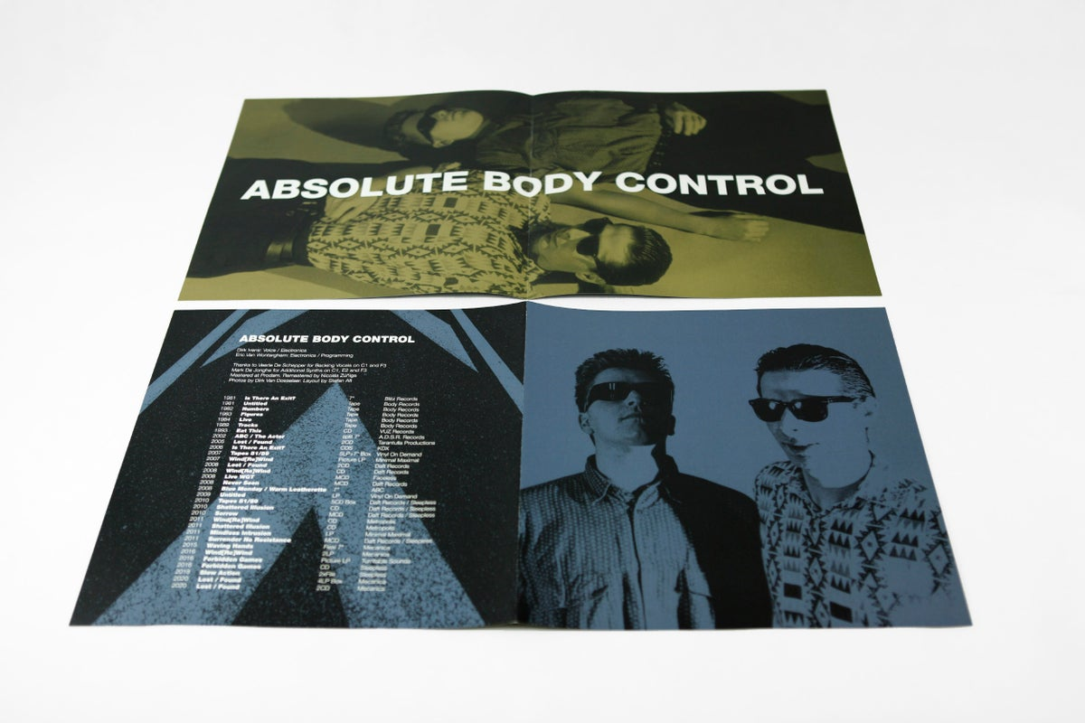 Image of Absolute Body Control - Lost / Found 4LP-BOX