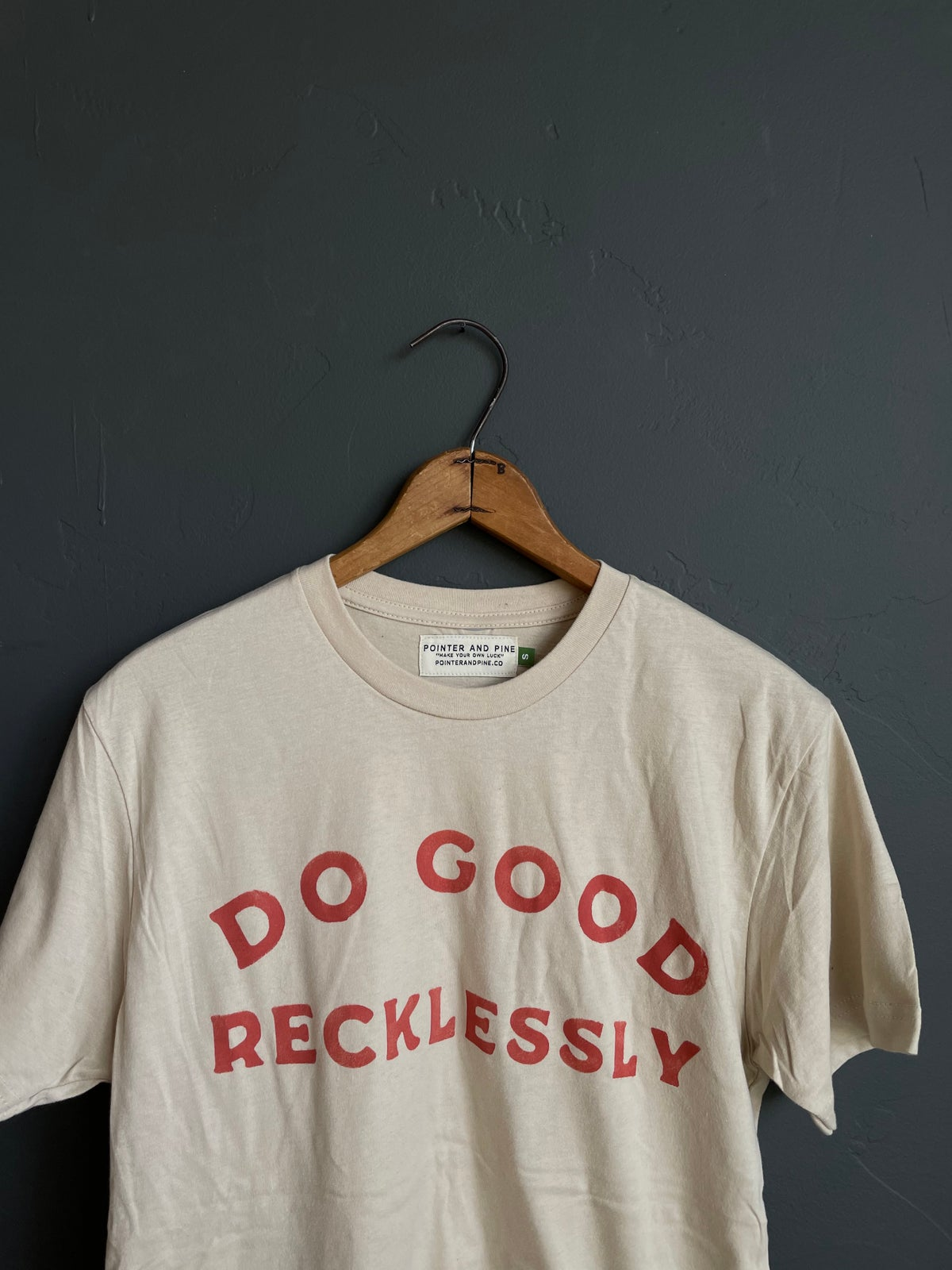 Image of DO GOOD RECKLESSLY TEE