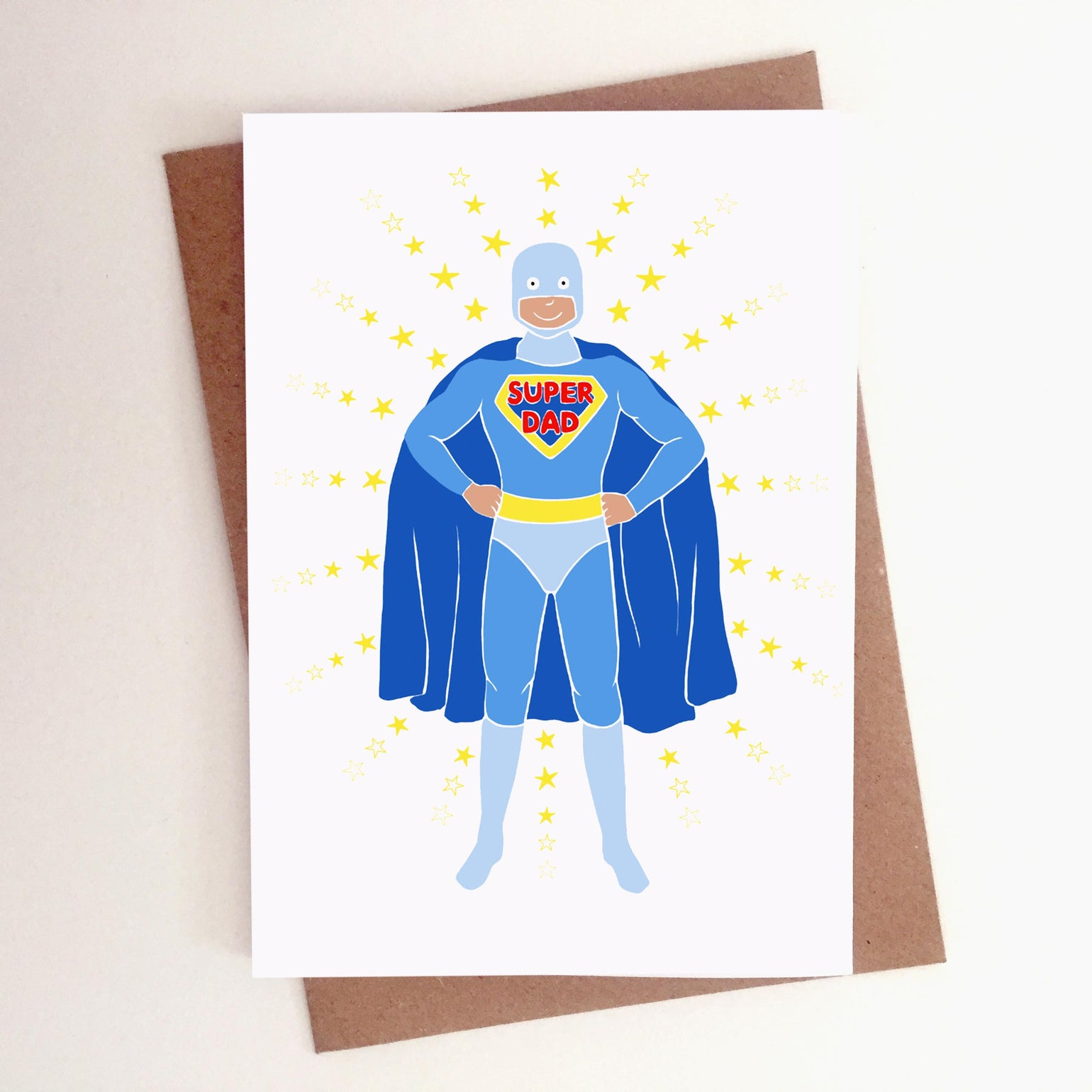 Image of PERSONALISED SUPER DAD CARD