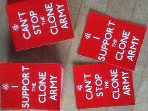 Image of Clone army mini sticker pack