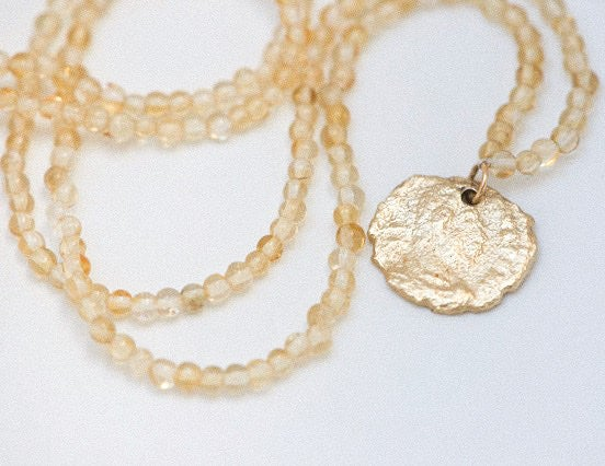 Image of Roma gold necklace summer 21