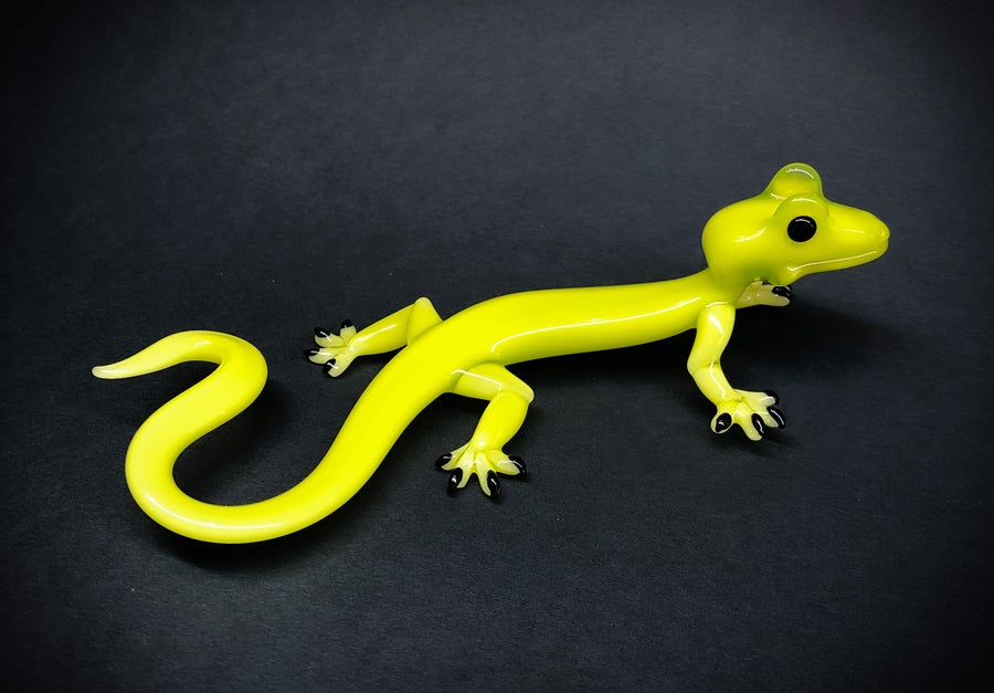 Image of Lime green gecko