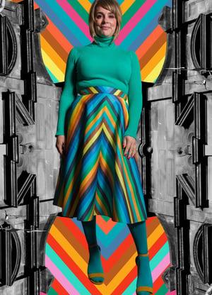 Image of Gloria 'Verdant'  Skirt