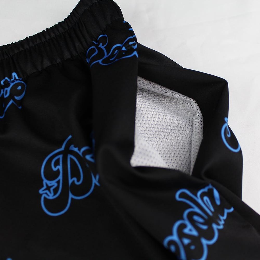 Star Logo Shorts (Electric Blue)