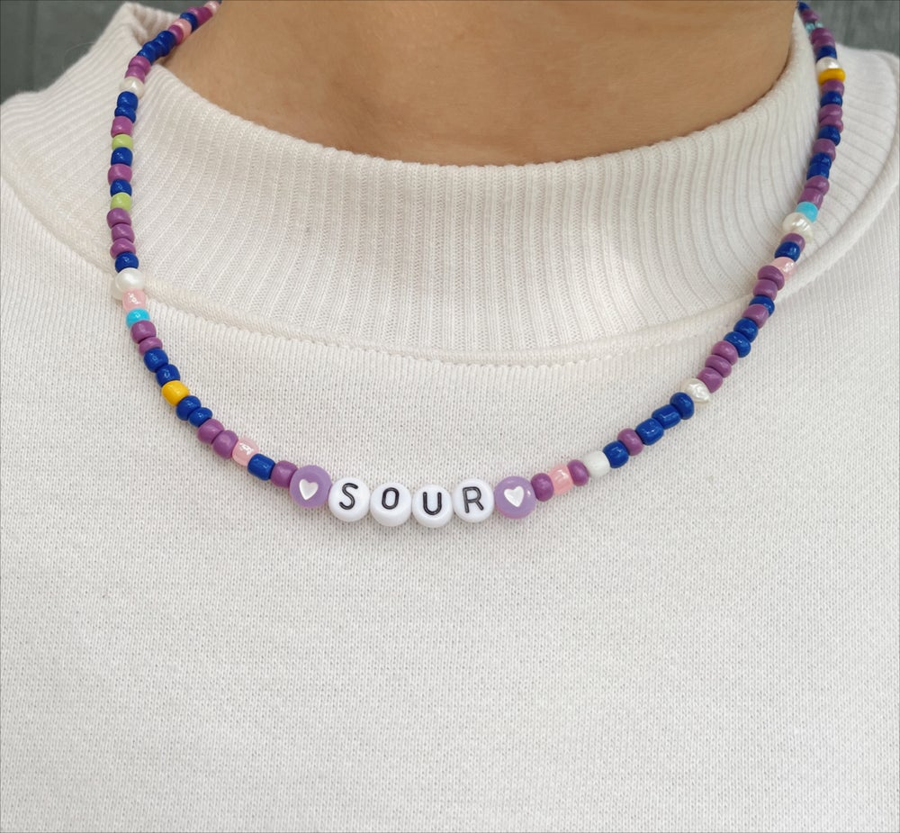 Image of SOUR inspired necklace