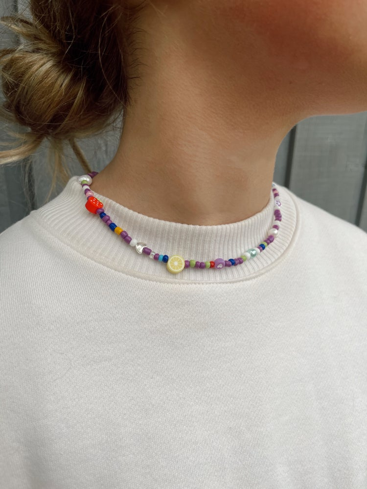 Image of happier necklace