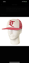 Risk Takerz Vintage Red and White Ticket Hat