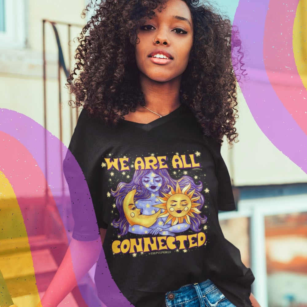 Image of WE ARE ALL CONNECTED TEE