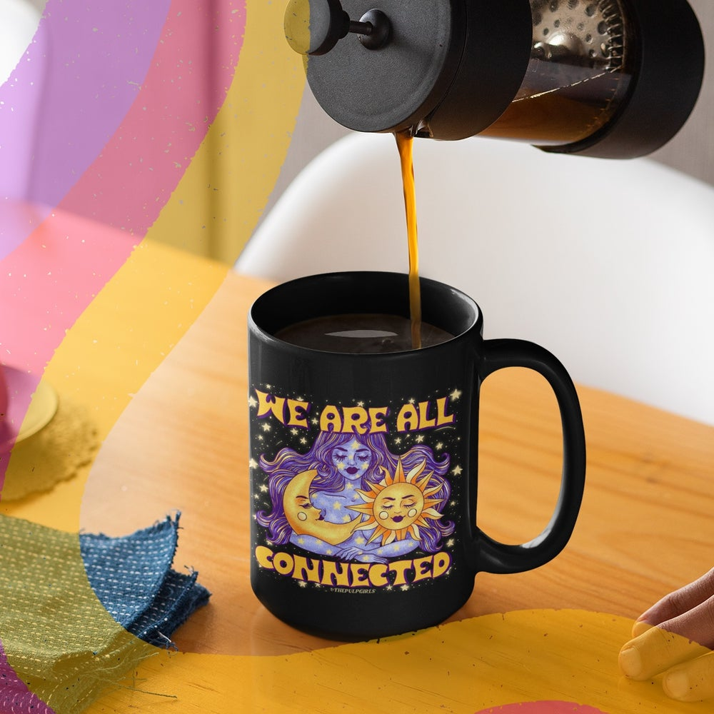 Image of WE ARE ALL CONNECTED MUG