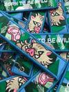 Born To Be Wild - Pig Keychain
