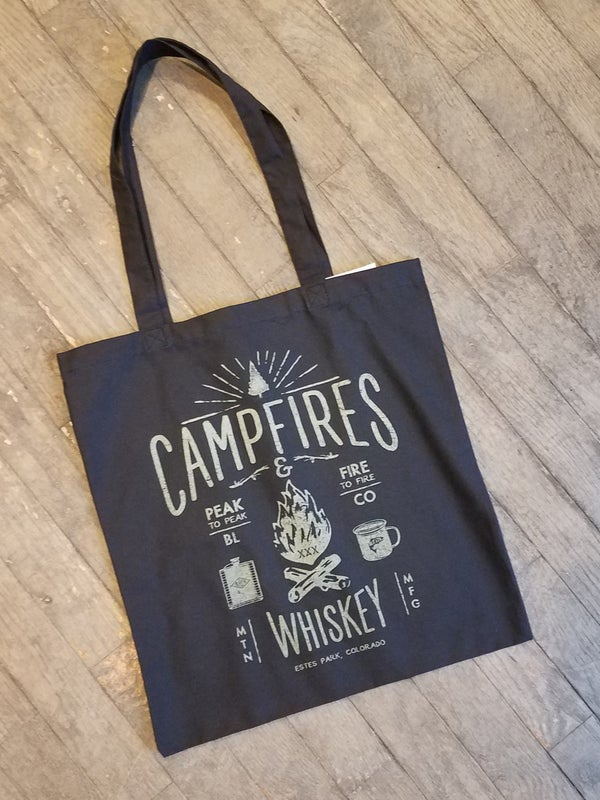 Image of Campfires and Whiskey Tote Bag