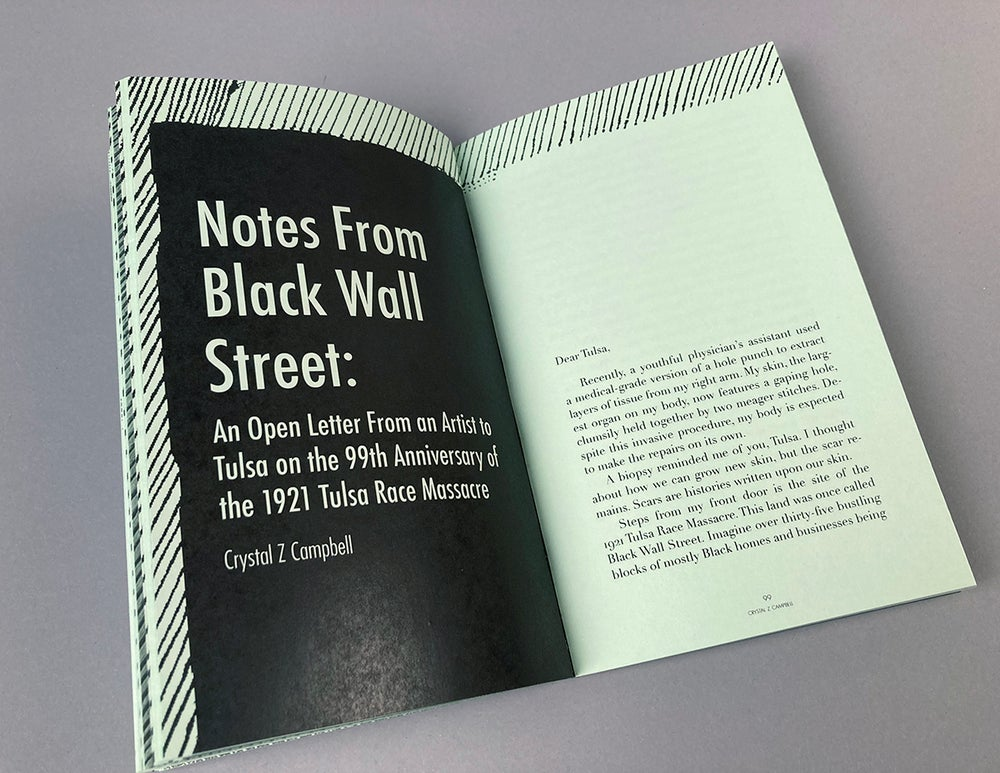 After 1921: Notes from Tulsa's Black Wall Street and Beyond