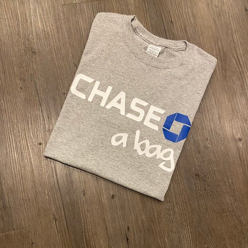 Image of Chase A Bag Tee (Black / Grey / White)