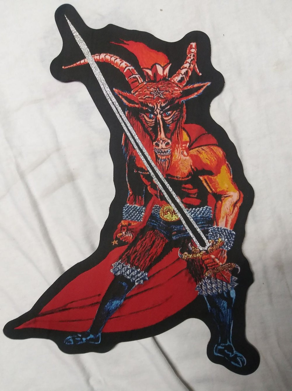 Slayer Big Woven Patch *imported*
