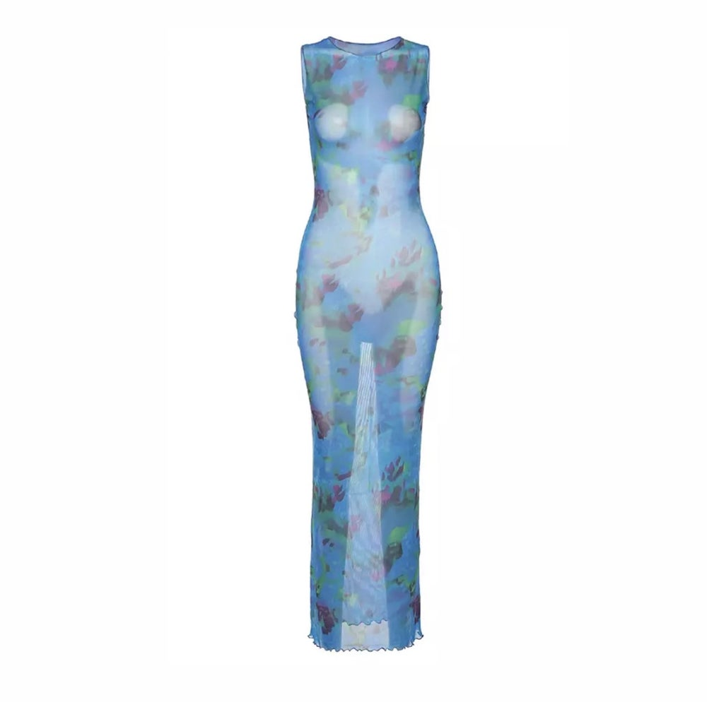 Image of Blue | Maxi Dress