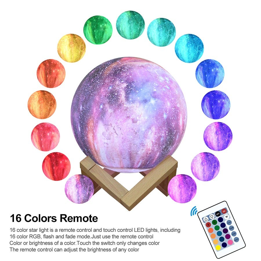 Colorful Moon Night Light (FREE SHIPPING)