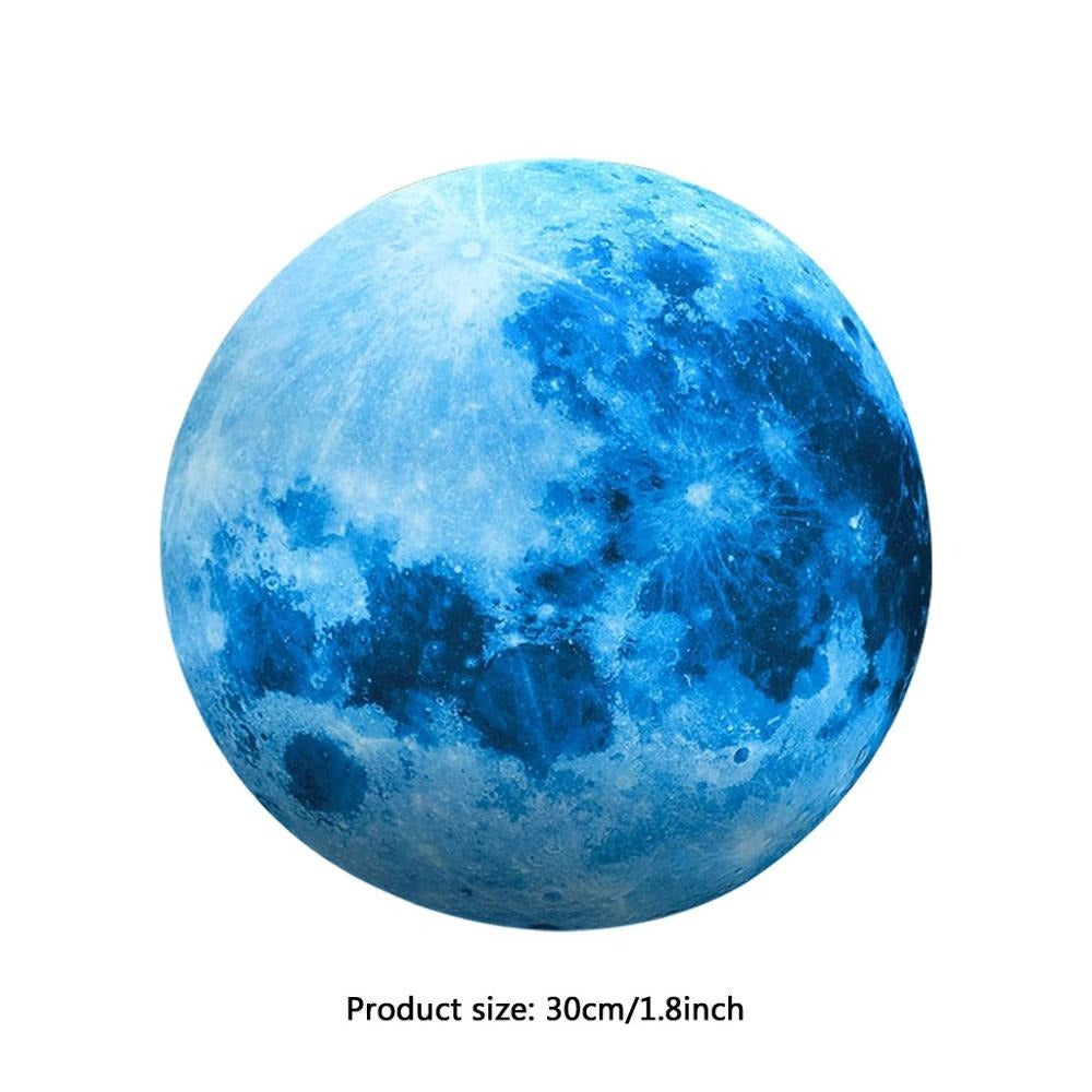 Luminous Blue Moon 3D Wall Sticker (FREE SHIPPING)