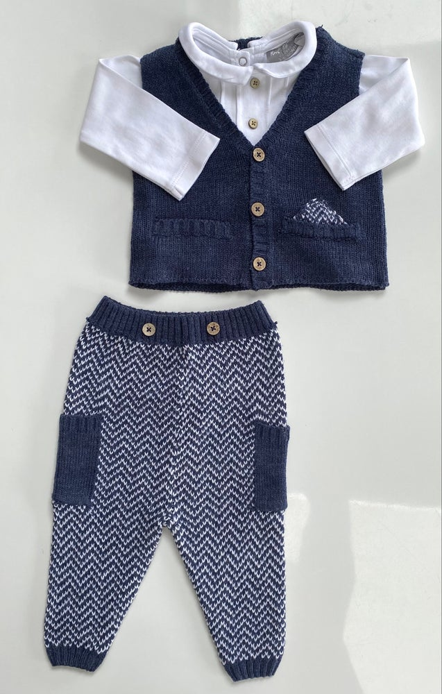 Image of Rock&Bye Baby 3 piece knitted combo - 3-6 months