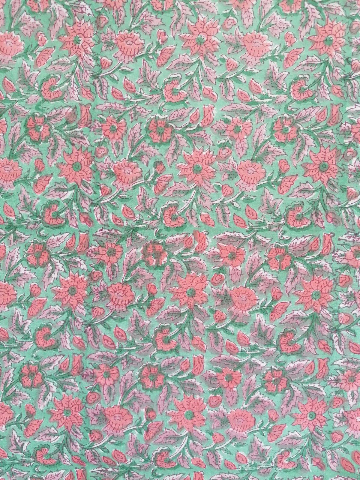 Image of Namasté fabric jardin public