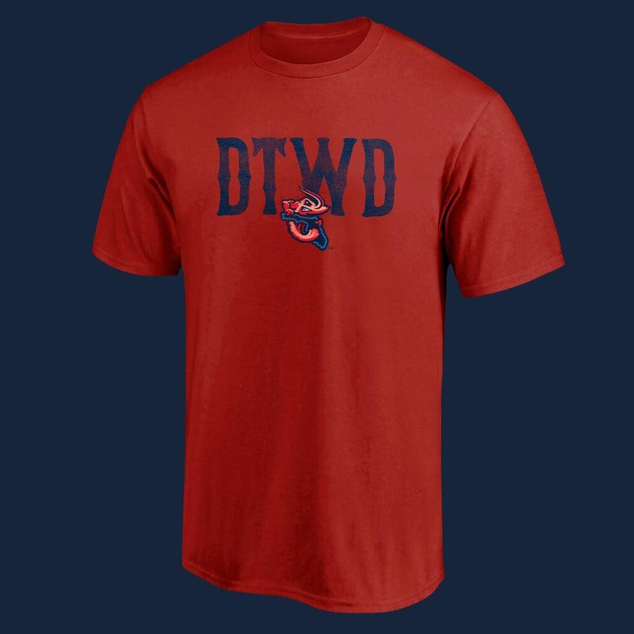 Image of Shrimp DTWD - Retro - Red