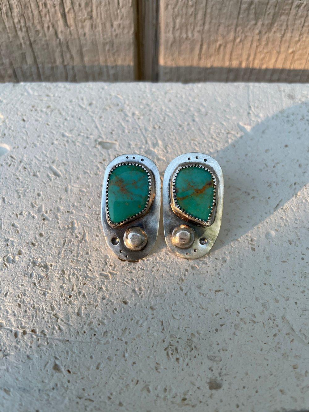 Image of Mad Kingman Earrings